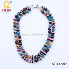 New model with high quality colorful necklace good luck for girl