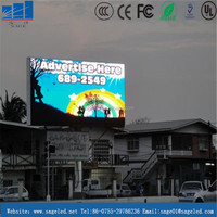 outdoor advertising led display screen prices from China factory