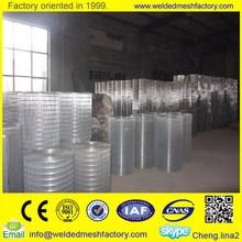 hot sale 3/8 inch galvanized welded wire mesh