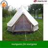 [ Fashinart ]fire resistance 6m bell tent family camping tent luxury tent to live in
