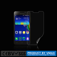 mobile phone lcd display Clear screen protector for Lenovo A3600