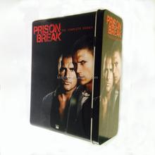 Rectangular custom CD/DVD tin case