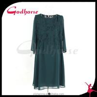 Breathable fashion print dress, plus size ladies clothing