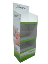 Paper,Cardboard,KT board Material Small counter top display for pork and spoon