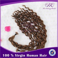 Buy Direct From China Manufacturer Free Delivery Best Quality Top Quality Virgin V Tip Human Hair Extension