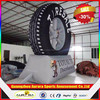 10ft black tyre good inflatable tire advertising ,inflatable tire model