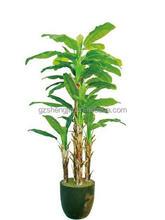 banana bonsai adornment artificial banana tree green plants decoration home
