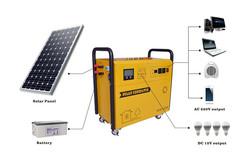 Moderate cost 12v dc solar generator