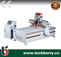 R-1325D 2 Heads CNC Engraving Cutting Machine/ CNC Router Wood Carving Machine for sale