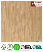 Artificial Decorative Engineered Wood Veneer Apple Tree 897S with FSC Certified