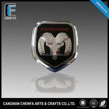 outdoor durability for 5-7 years acrylic chrome car logo badge emblem
