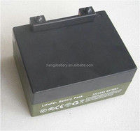 LiFePO4 battery 12v 16Ah for golf trolleys with PCB ,charger and T-bar connector