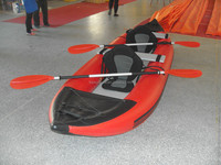 Customized PVC High Quality Fishing Boat Inflatable Kayak