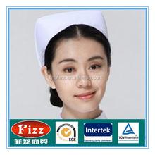 Mais barato tampão da enfermeira hospital venda quente enfermeira chapéus coloridos touca cirúrgica para médico