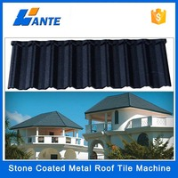 2015 Trade Assurance colorful stone chip coated steel roofing tile