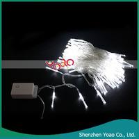 White 10M 100 LED Fiber Optic String Light For Christmas Decorations