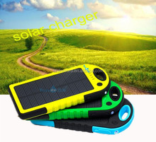 New Year Product portable solar cell mobile phone charger 5000MAH T011