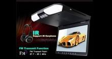 15inch de montaje en techo DVD con USB / SD / tv / ir / fm / juego