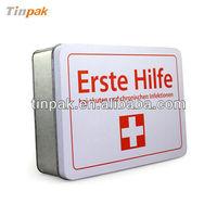 Erste Hilfe tin box