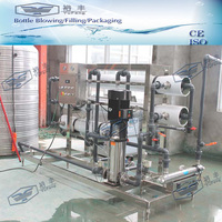 UPVC pipe reverse osmosis equipment with UV sterilizer and Dow membrane