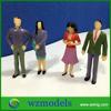 1;25 small plastic model standing figure resin mini human figure