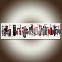 2016 Wholesale Simple Abstract Decorative Art Painting