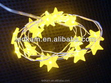 LED decoration string light,led star shape battery string light,led copper wire festival lights for holiday