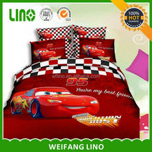 3D Polyester disperse printed home textile/bed set/bed linen