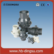 """Easy using DN125 5"""" pvc pipe check valve for flow control biggest manufacturer"""