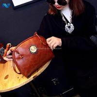 Fashion Women Ladys Portable Double Straps Small Shoulder Bag Handbag Cross Bag