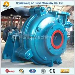 belt driven centrifugal water pump for slurry