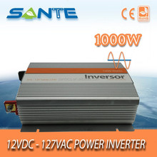 China factory DC12V to AC120V 1000W sine wave solar power inverter