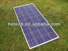 High efficiency Clean energy TUV 100w poly solar photovoltaic