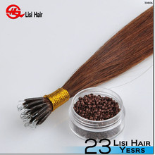 2015 New Design Keratin Socap Glue Beauty Works Brand Name nano ring hair extensions no split ends