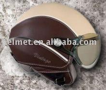 Motorcycle helmet/ ECE half face harley helmet