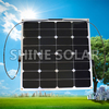 Custom made flexible RV solar panel kits, semi flexible marine solar panels, China semi flexible solar panel manufacture