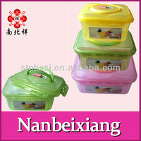 Plastic Button Storage Containers