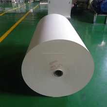 White high pressure laminate veneer base paper with stable gram weight