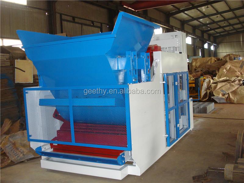 cinder block making machine