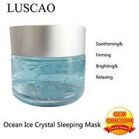 2014 new moisturizing ocean crystal fairness cream whitening nourish skin care alginate masks