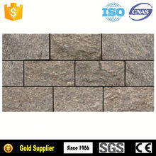 Foshan Factory Direct Sales stacked stone black slate
