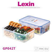 chinese plastic airtight dog food containers with divider