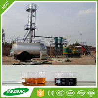 Competitive Price Good Quality Scrap Tyre Plastic Pyrolysis To Oil Machinery For Sale