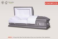 KM2031 golden king plus coffins and caskets metal