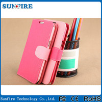 For Note2 Premium Flip Leather Wallet Case for Samsung Galaxy Note2 II N7100 N7108 with Stand
