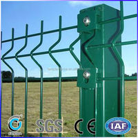 High quality garden fence with peach post/round post/square post