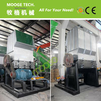 High Capacity Plastic PET Bottle Crushing Machine