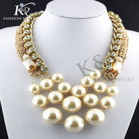 fashion jewelry layered beads elegant necklace for women different types of necklace chains jewelry