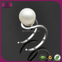 Chinese Natural Pearls Expandable Rings