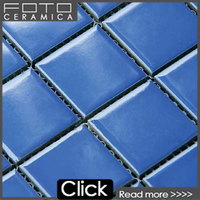 Glazed ceramic mosaic tile and swimming pool bullnose tile china factory